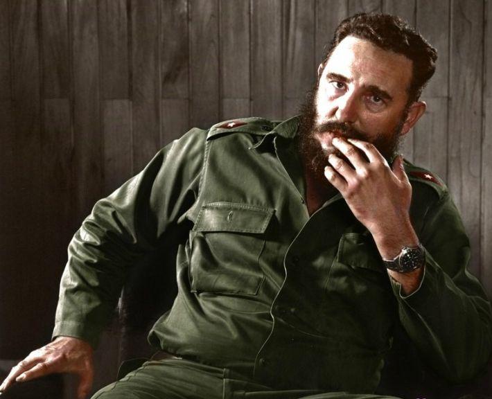 Кастро, Фидель — Википедия | 576x710